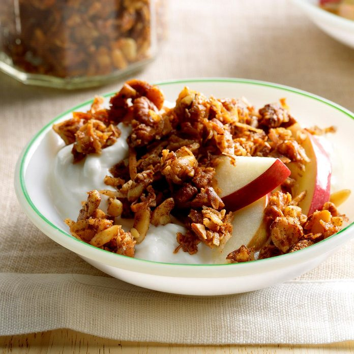 Grain-Free Apple Pie Granola