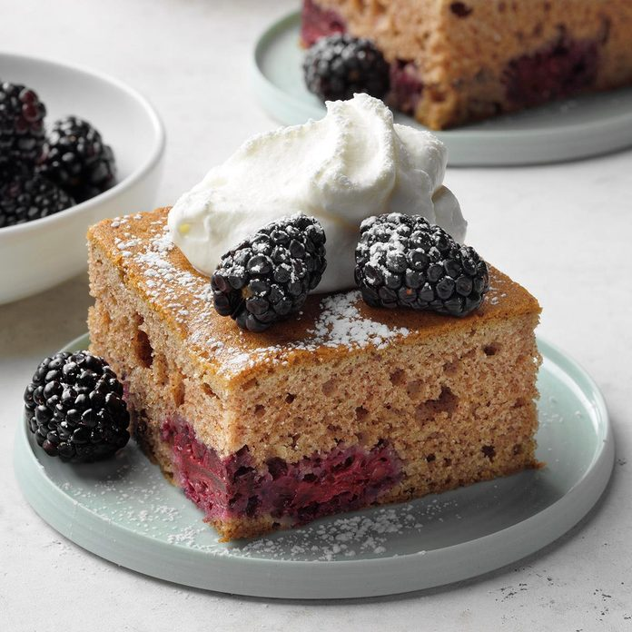 Grandma's Blackberry Cake