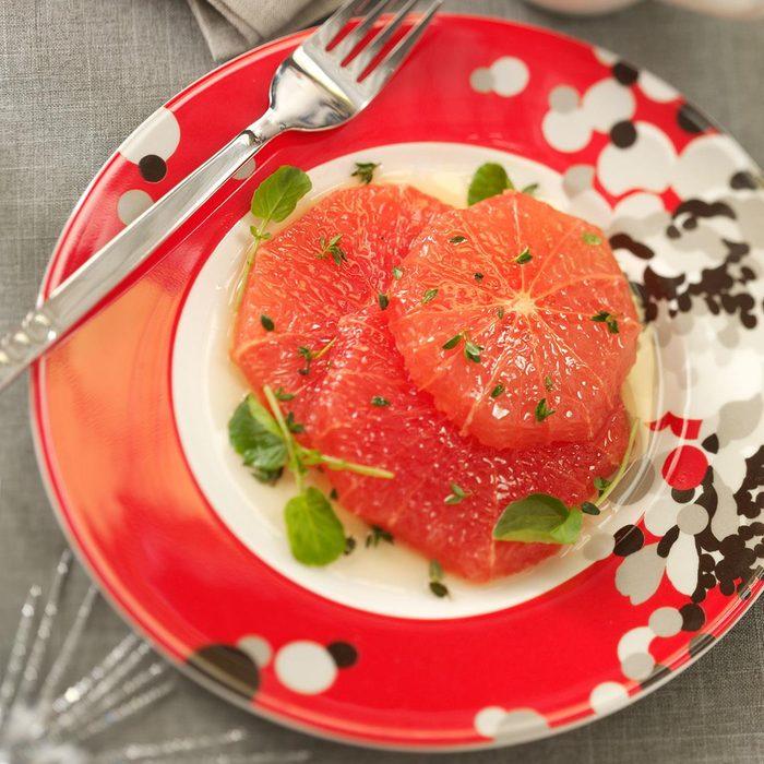 Grapefruit in Honey-Thyme Sauce