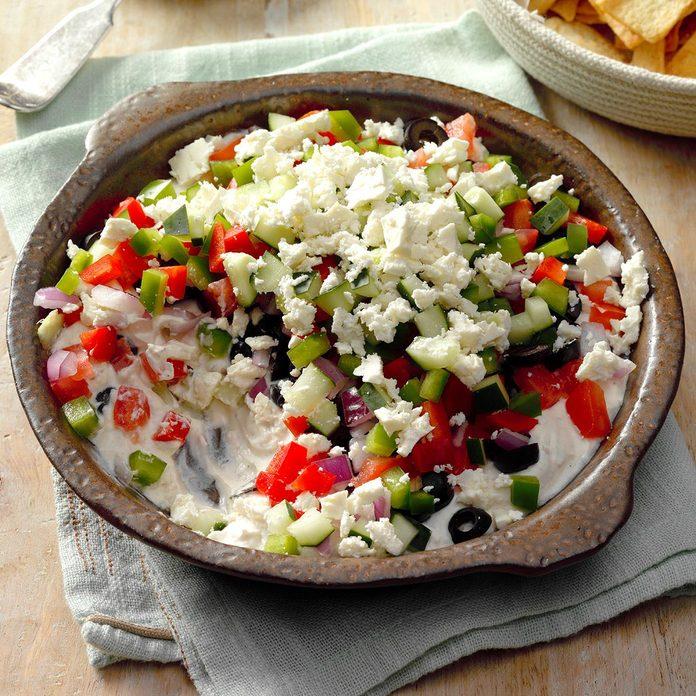Greek Pita Spread