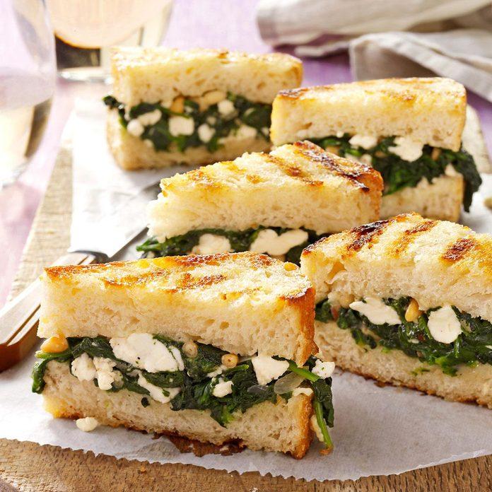 Greek Sandwich Bites
