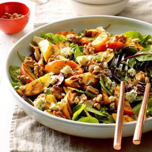 Grilled Apple Tossed Salad