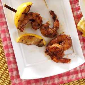 Grilled Cajun Shrimp Skewers