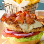 Grilled Pepper Jack Chicken Sandwiches