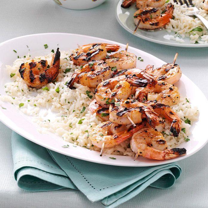 Inspired by: Grilled Shrimp Skewer