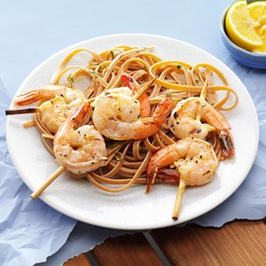 Grilled Shrimp with Lemon Vinaigrette