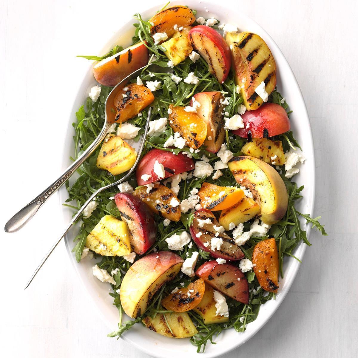 Nevada: Grilled Stone Fruit Salad