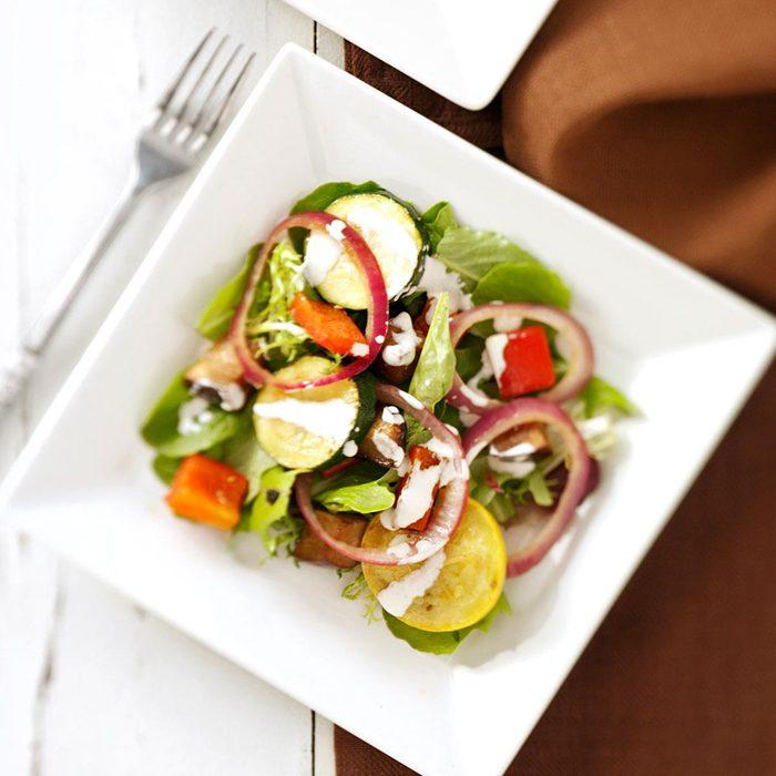 Grilled Vegetable Ranch Salad