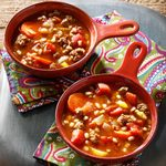 Ground Beef and Barley Soup