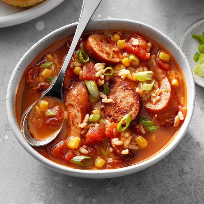 Gumbo in a Jiffy