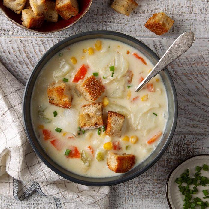 Halibut & Potato Chowder