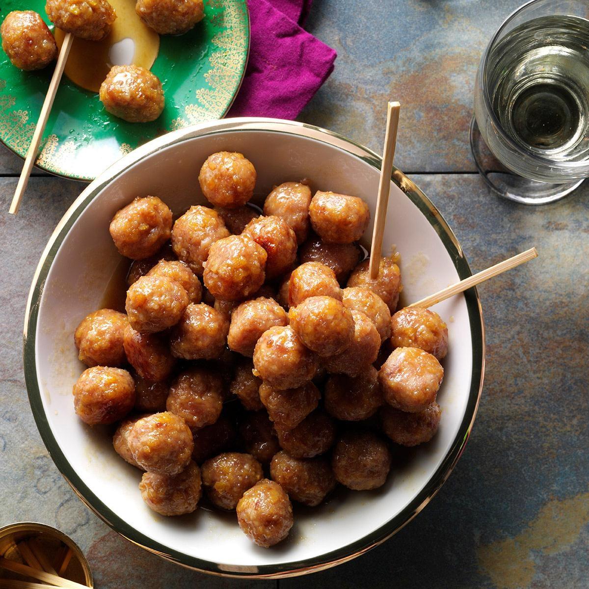 Pennsylvania: Ham Balls with Brown Sugar Glaze