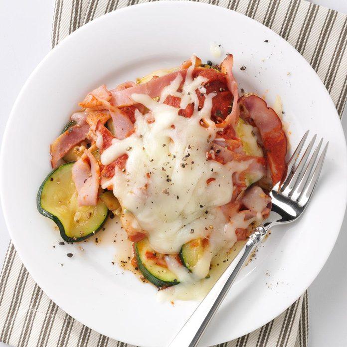Ham & Zucchini Italiano