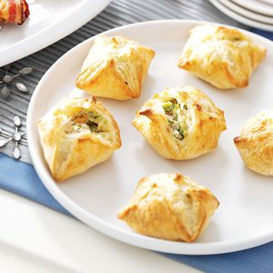 Ham and Broccoli Puffs