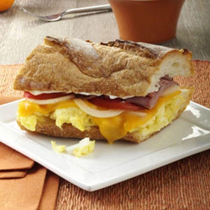 Ham 'n' Egg Sandwich