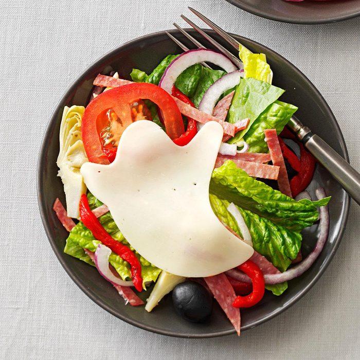 Haunted Antipasto Salad