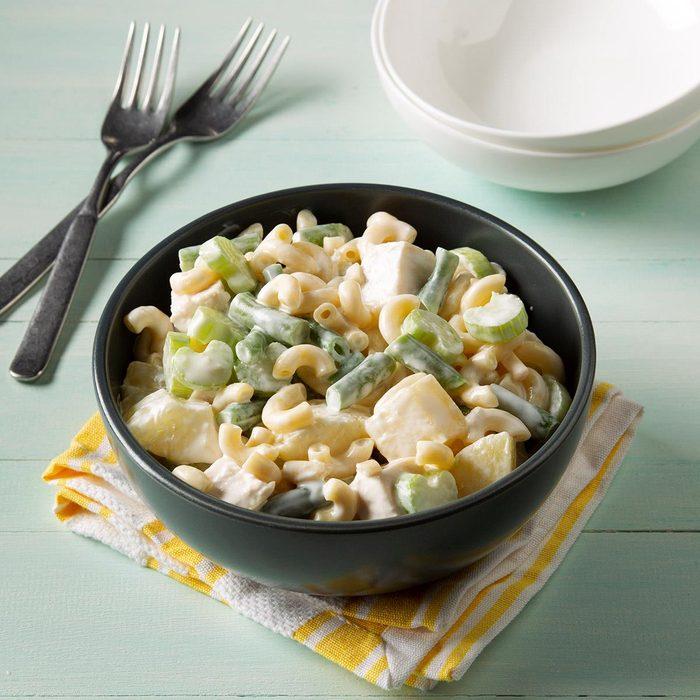 Hawaiian Chicken Macaroni Salad
