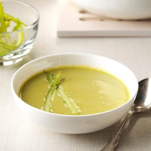 Hazelnut Asparagus Soup