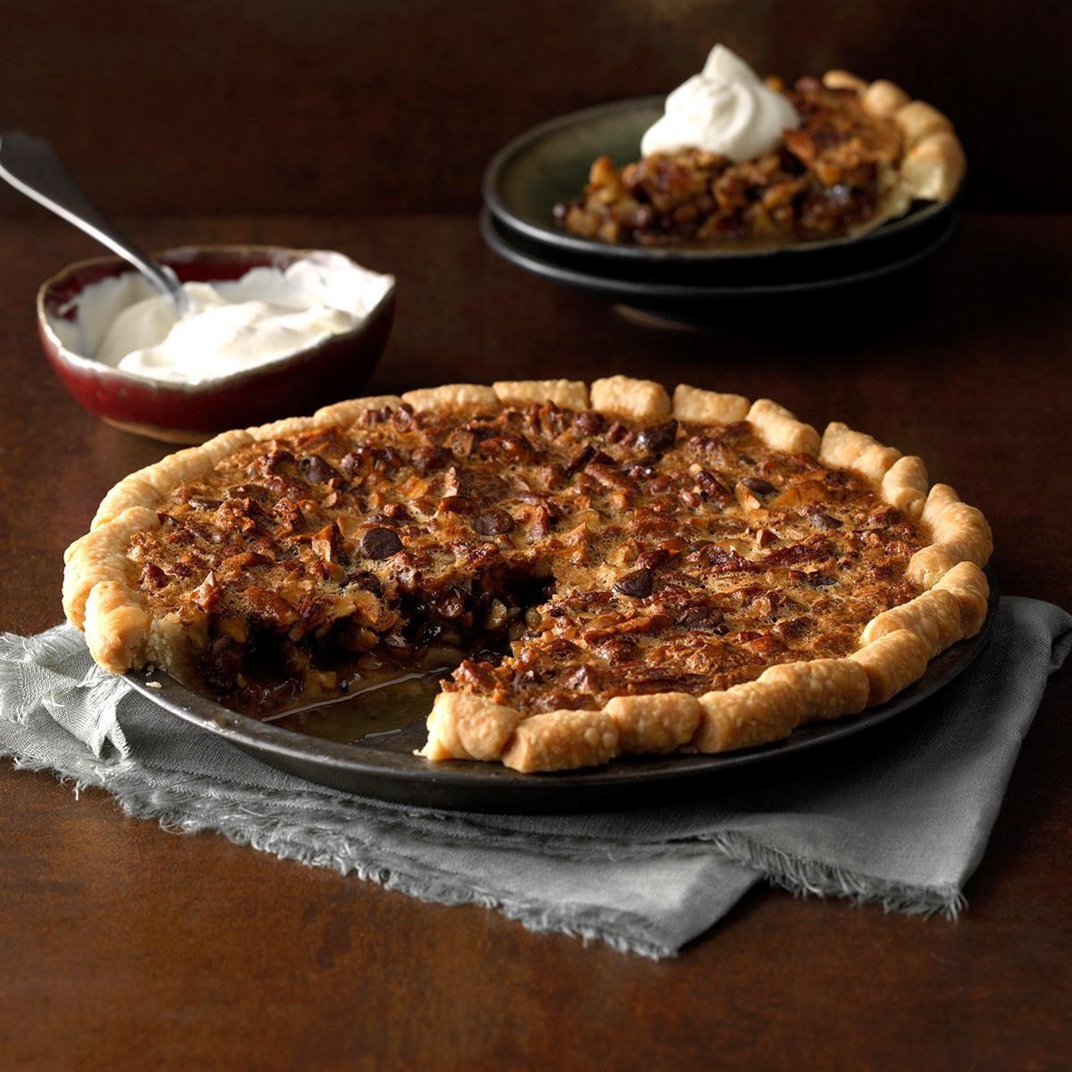 Hazelnut Pecan Pie