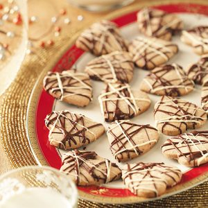 Hazelnut Shortbread Hearts