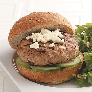 Healthy Turkey Burgers for Two