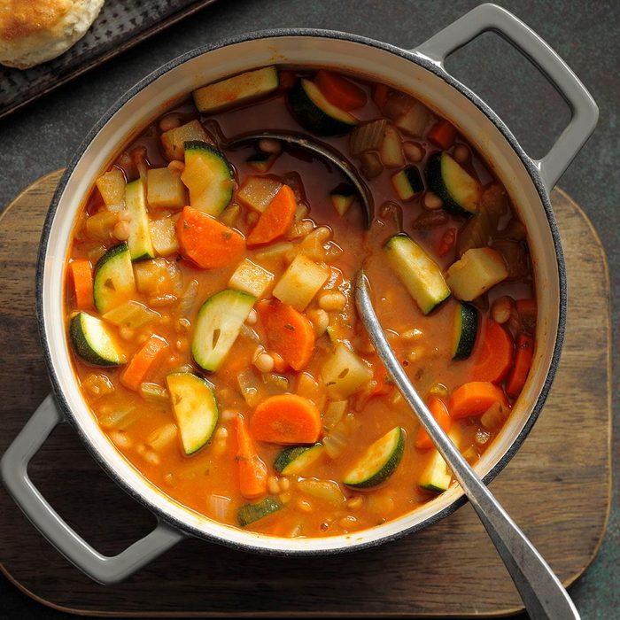 Hearty Italian White Bean Soup