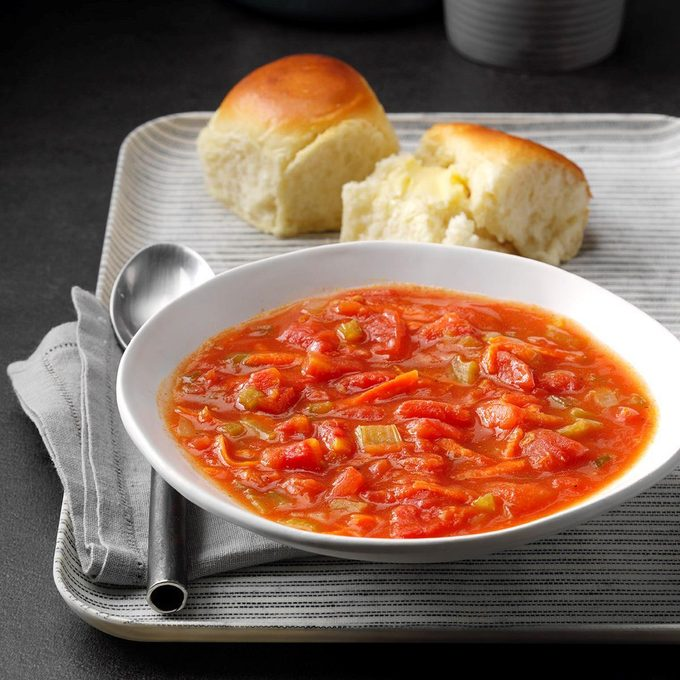 Hearty Mixed Vegetable Soup