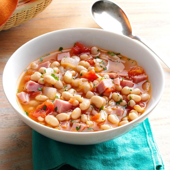 Day 4 Lunch: Hearty Navy Bean Soup