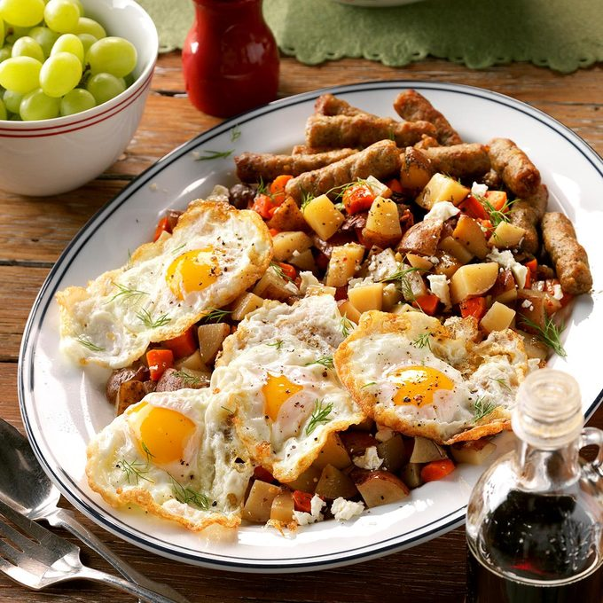 Hearty Slow-Cooker Breakfast Hash