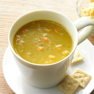 Hearty Vegetable Split Pea Soup