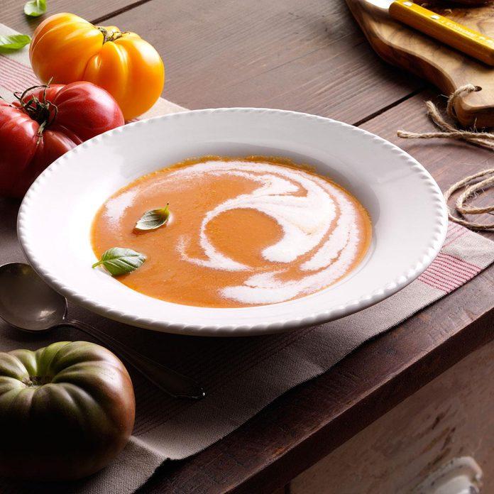 Heirloom Tomato Soup