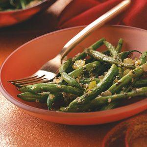 Herb-Buttered Green Beans