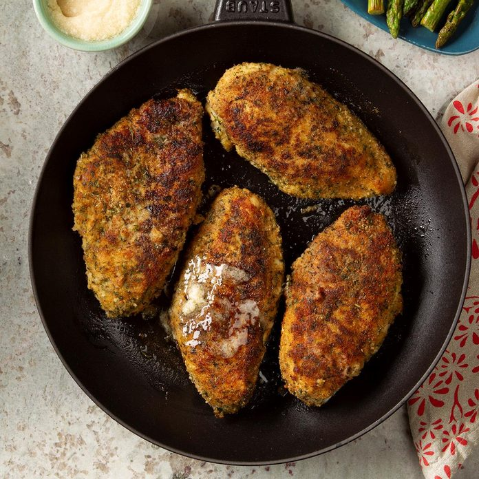 Herb Chicken with Honey Butter