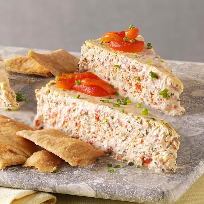 Herb Roasted Pepper Cheesecake Exps147189 Th2379797a11 30 5bc Rms 2