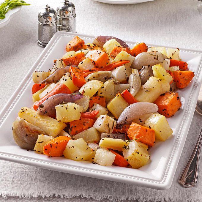 Herb Roasted Root Vegetables
