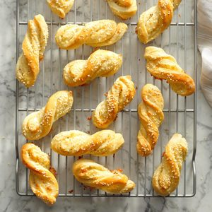 Herbed Bread Twists