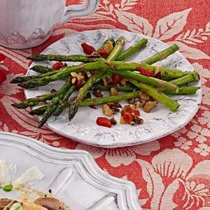 Herbed Fresh Asparagus