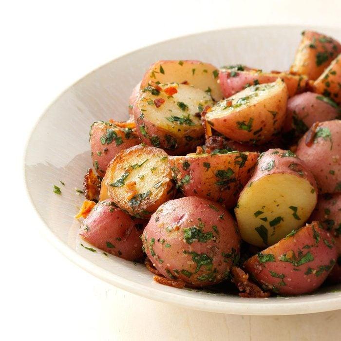 Herbed Garlic Potatoes