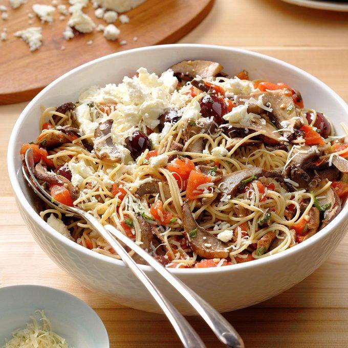 Herbed Portobello Pasta