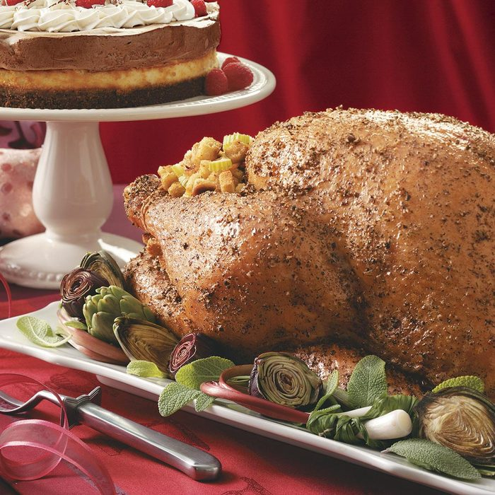 Herbed Turkey with Citrus Dressing