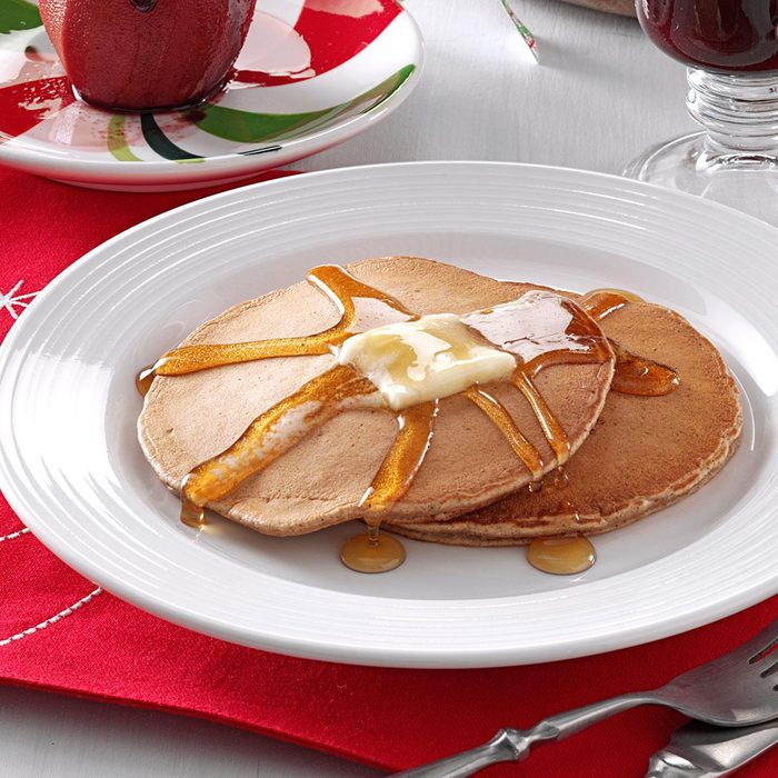 Holiday Spice Pancakes