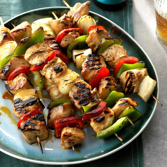 Honey Glazed Chicken Kabobs Exps Chkbz18 37482 C10 24 2b 2