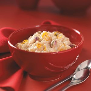Honey-Orange Rice Pudding for Two