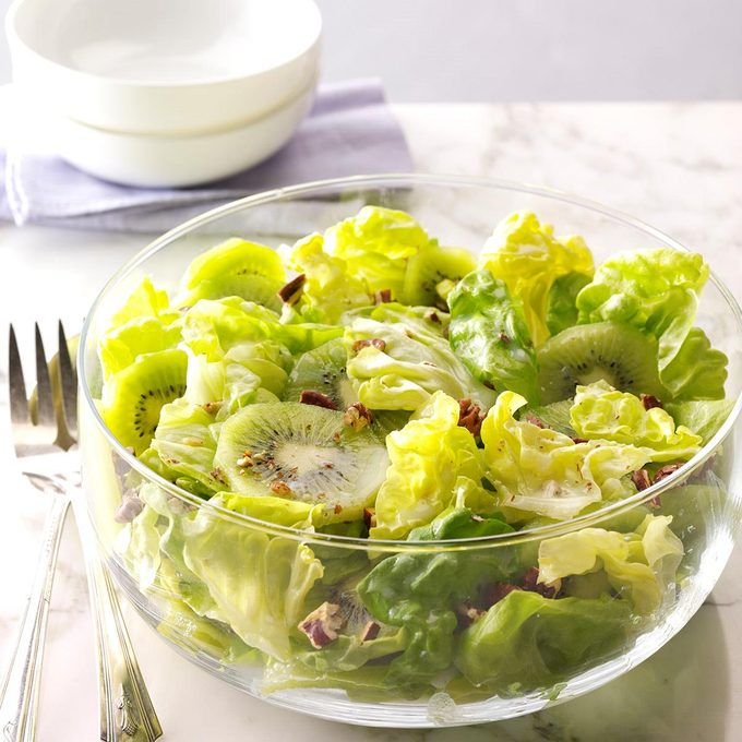 Honey-Pecan Kiwi Salad