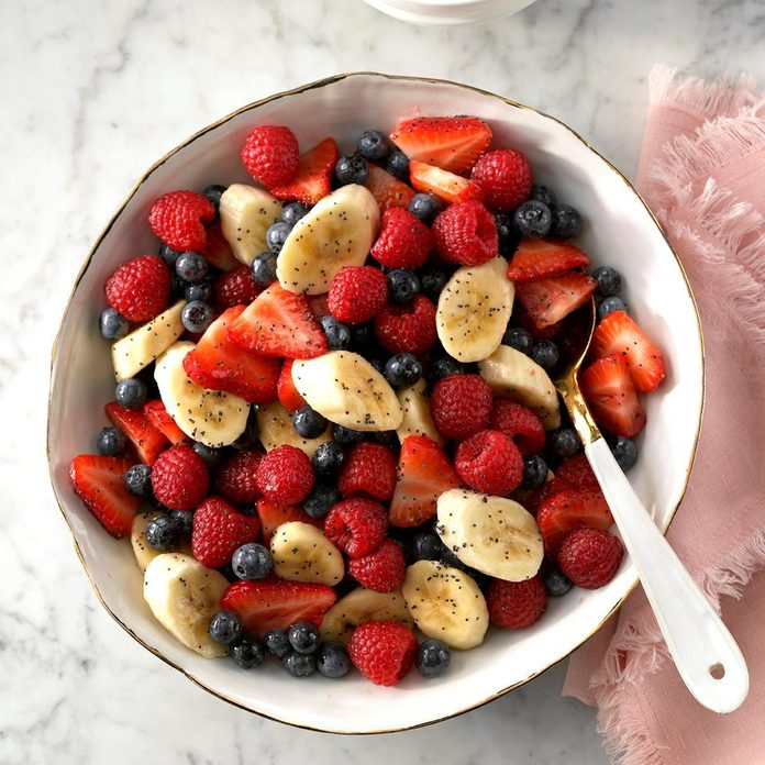 Arkansas: Honey Poppy Seed Fruit Salad