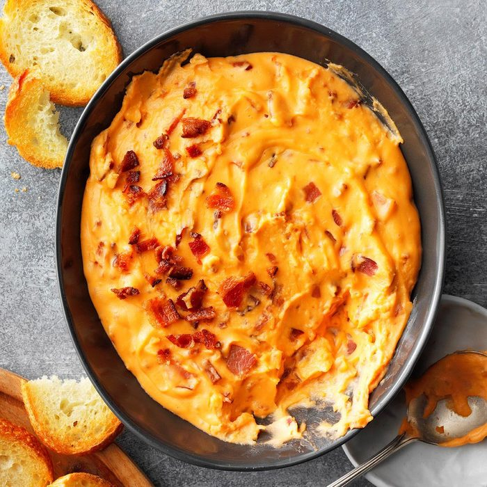 Hot Bacon Cheese Dip