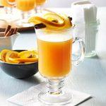 Hot Cider with Orange Twists