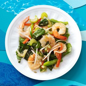 Hot Shrimp Salad