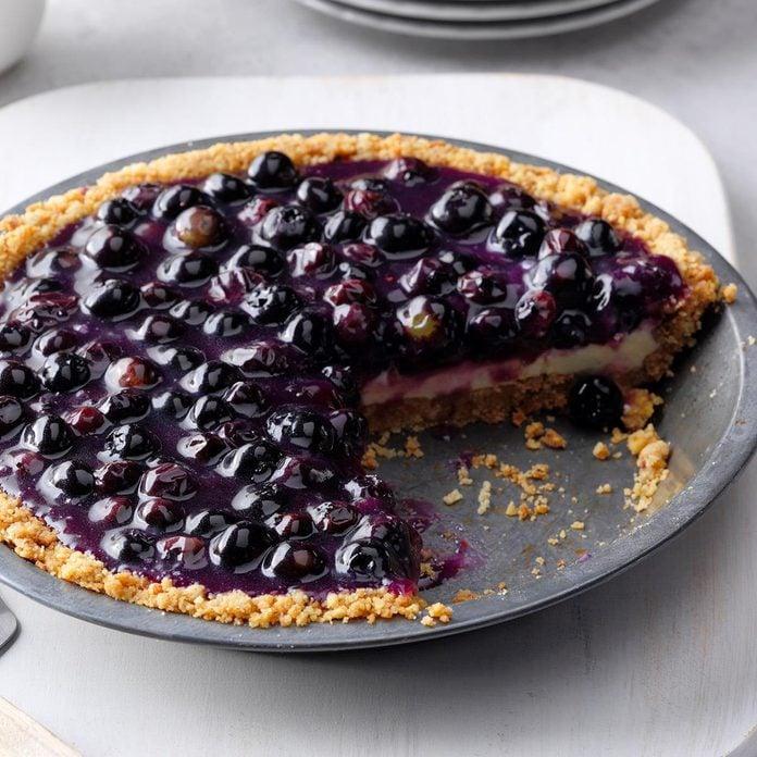 Huckleberry Cheese Pie