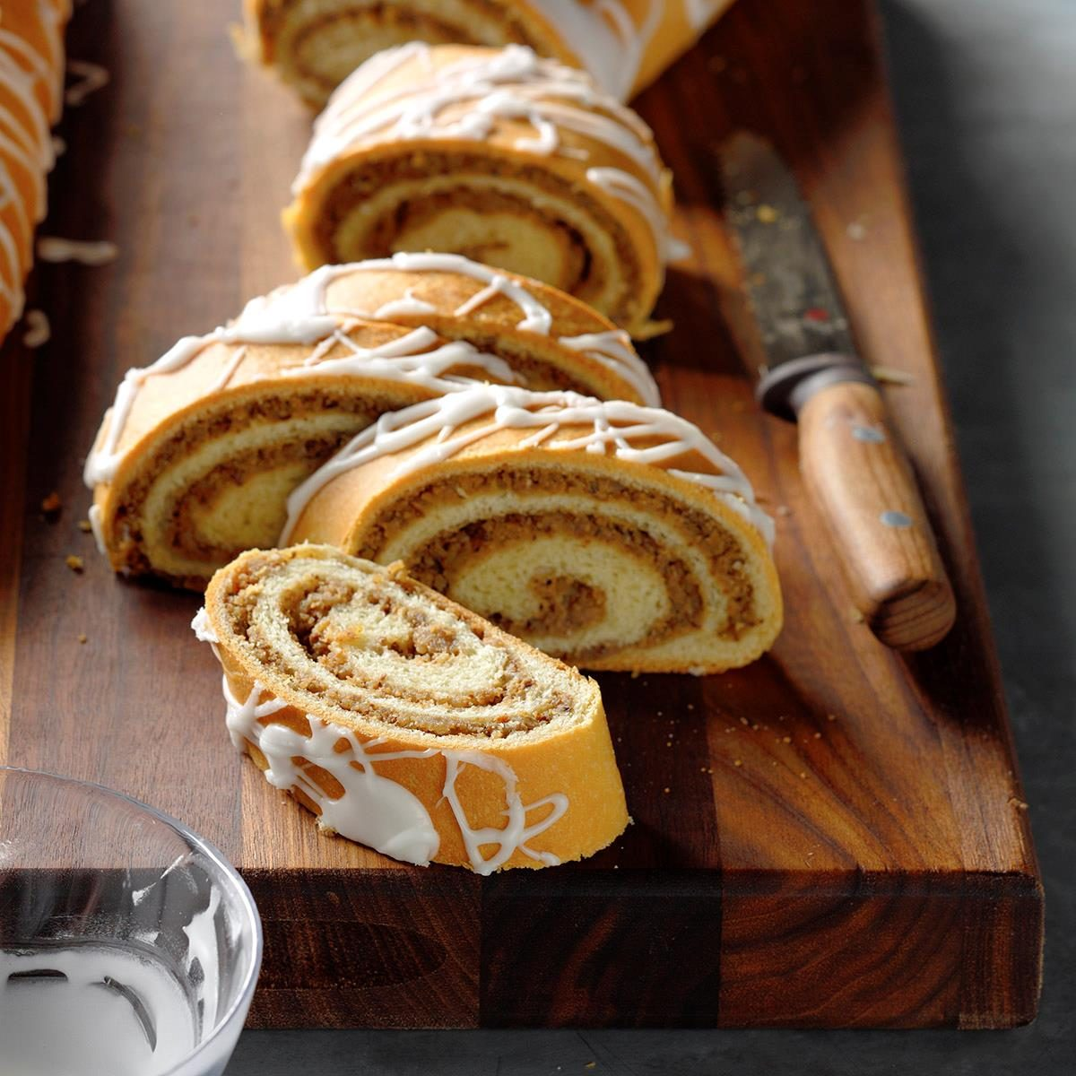 Hungarian Cinnamon Nut Rolls
